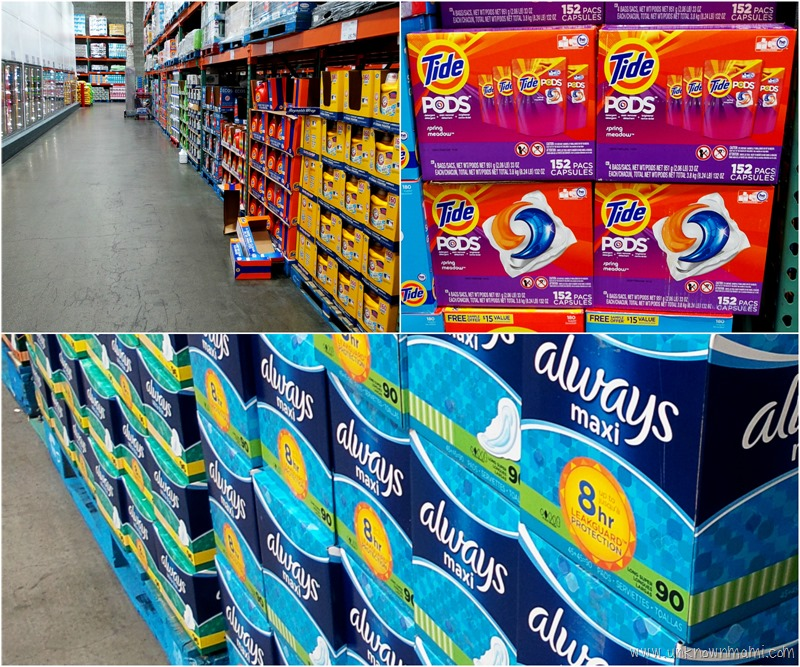 P&G Products at Costco