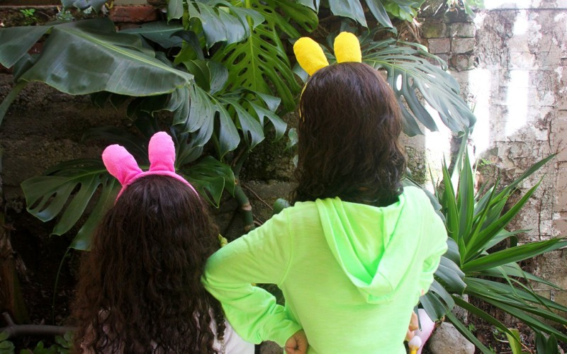Letting Kids Pick out Their Own Easter Outfits