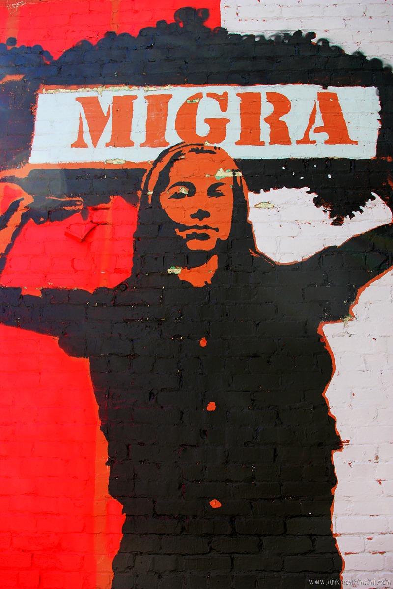 Migra Mural by C de Villasante
