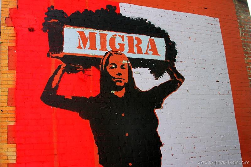 Migra Mural in Petaluma