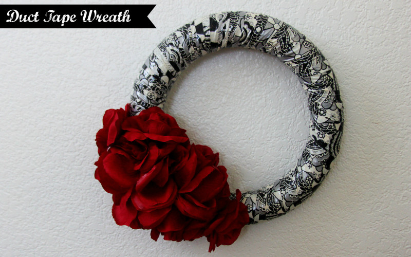 DIY: Duct Tape Wreath