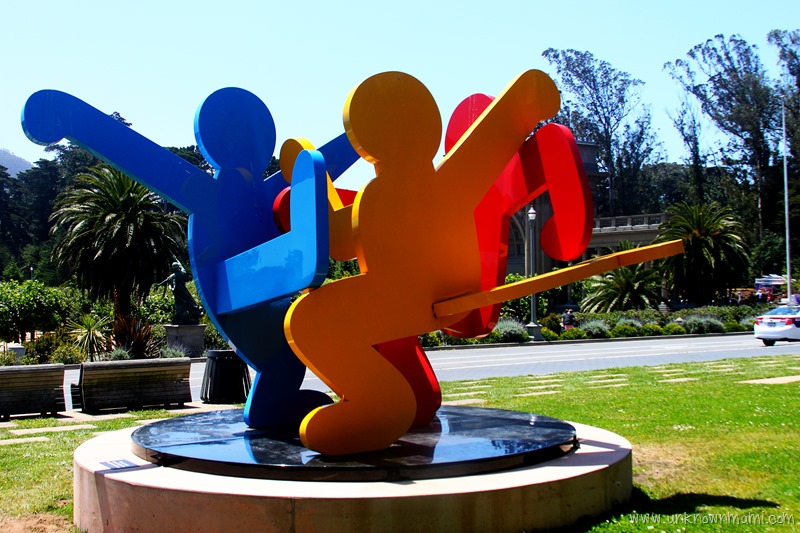 Keith Haring Three Dancing Figures