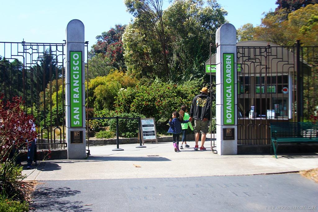 Entrance To San Francisco Botanical Garden