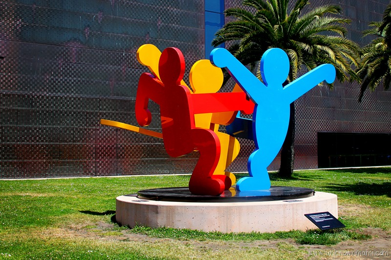 Three Dancing Figures Keith Haring