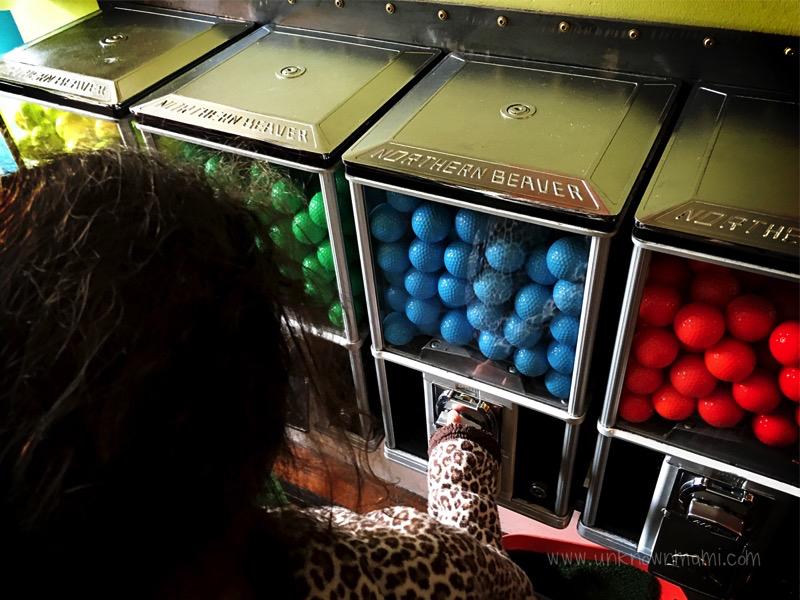 Golf balls at Urban Putt