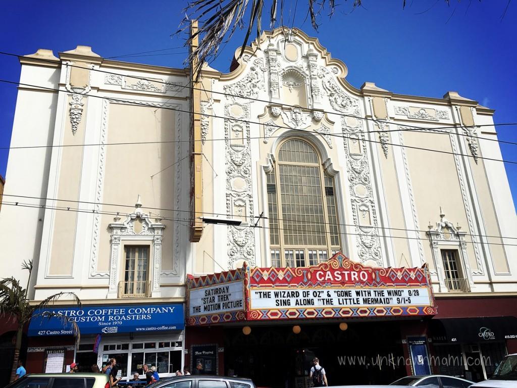 Exterior of Castro Theatre