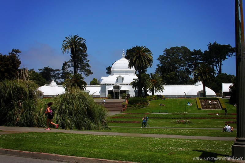 Conservatory of Flowers in San Francisco