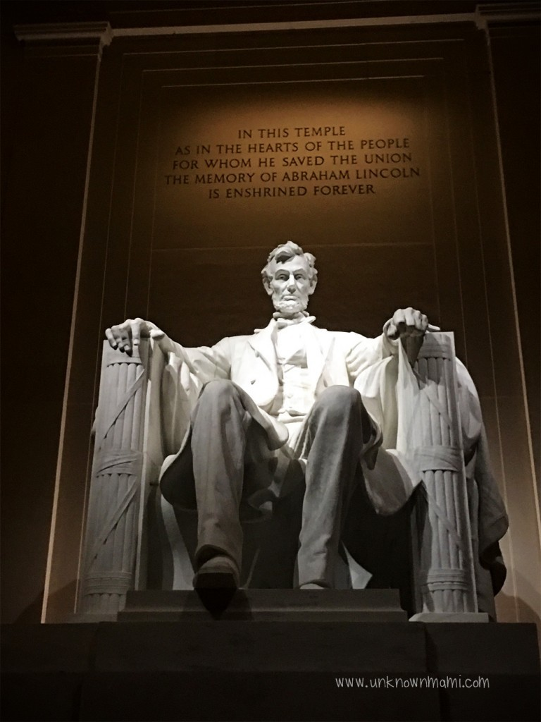 Lincoln in the Lincoln Memorial