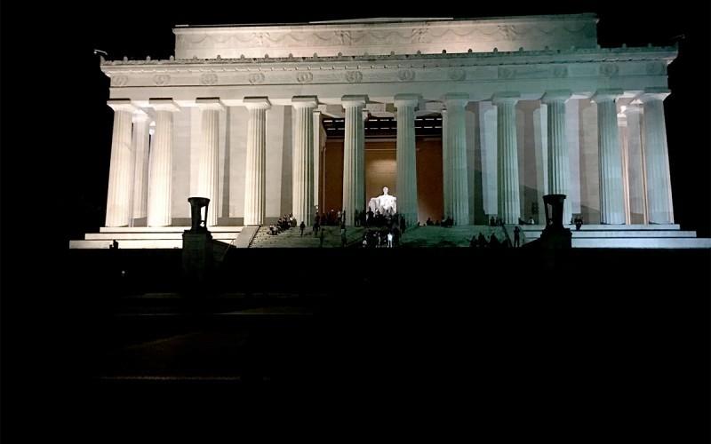 Washington, D.C. at Night (Sundays In My City)
