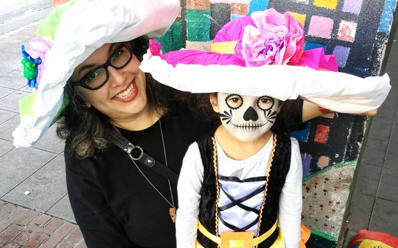 How to Make Day of the Dead Paper Hats