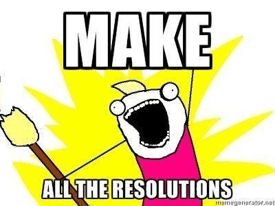 New Year Resolution Meme