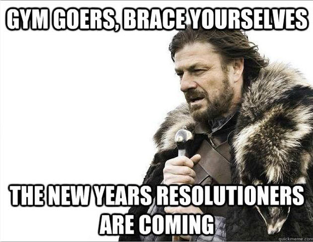 Brace yourself for the resolutioners meme