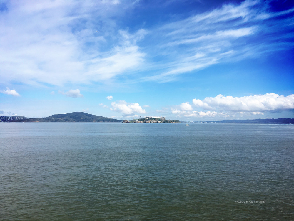 View of Alcatraz from Fort Mason
