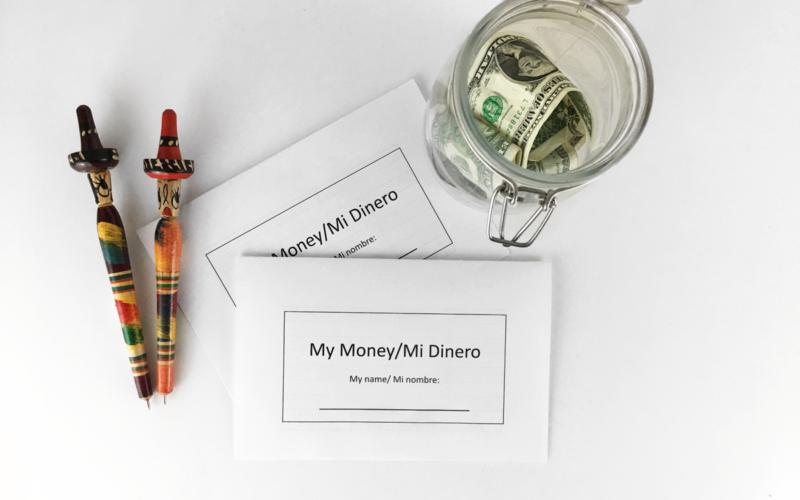 Checkbook Register for Kids and Money Talk