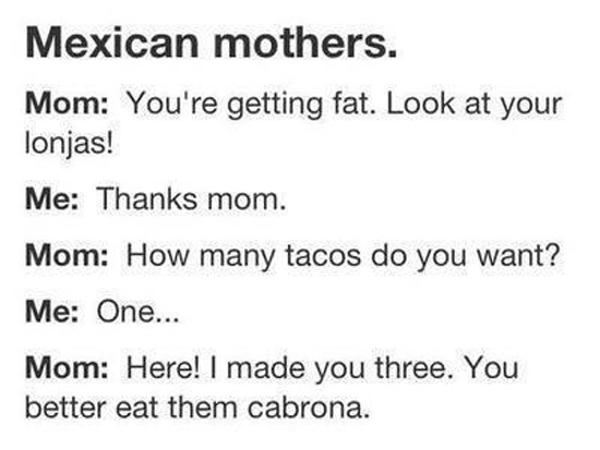 Growing up Mexican Meme