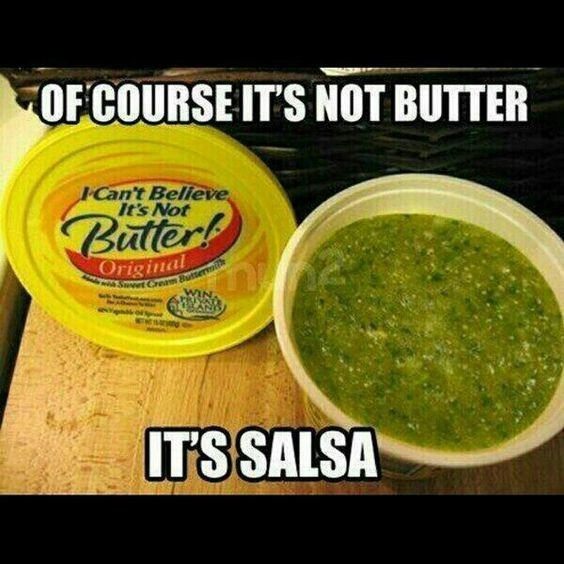it's not salsa meme