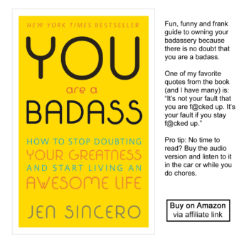 "Buy ""You Are a Badass"" on Amazon"