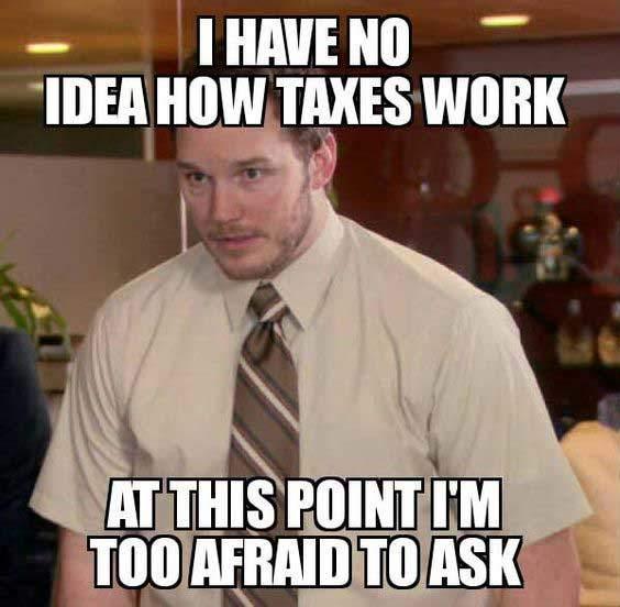taxes meme