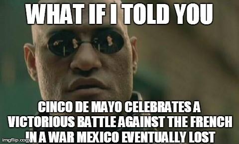 Morpheus cinco de mayo meme