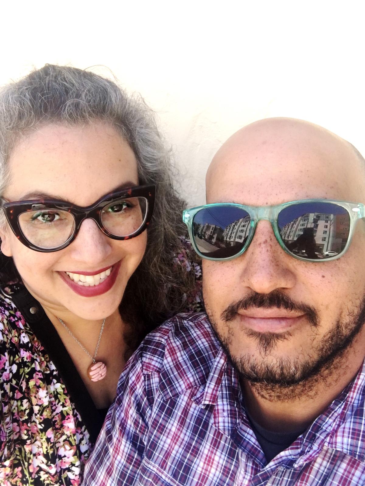 Claudya Martinez and husband