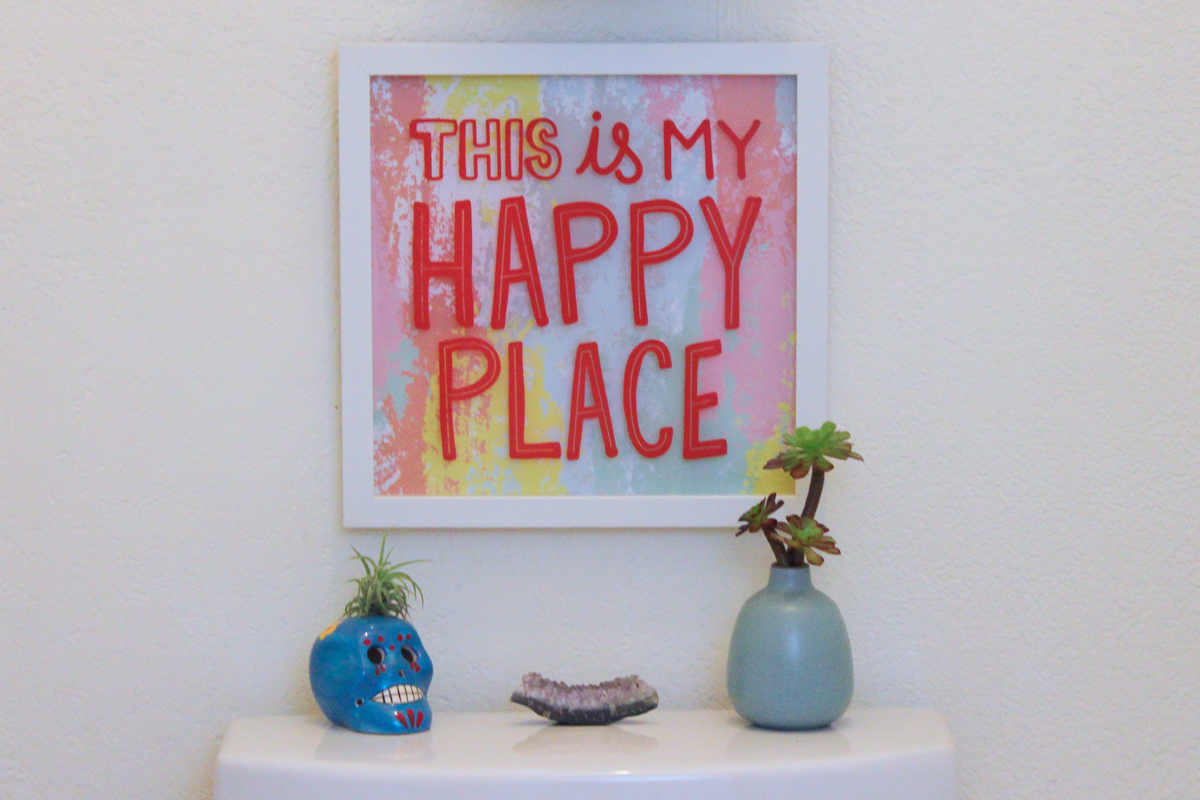 This is my happy place wall art