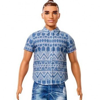 Man-Bun Ken Doll