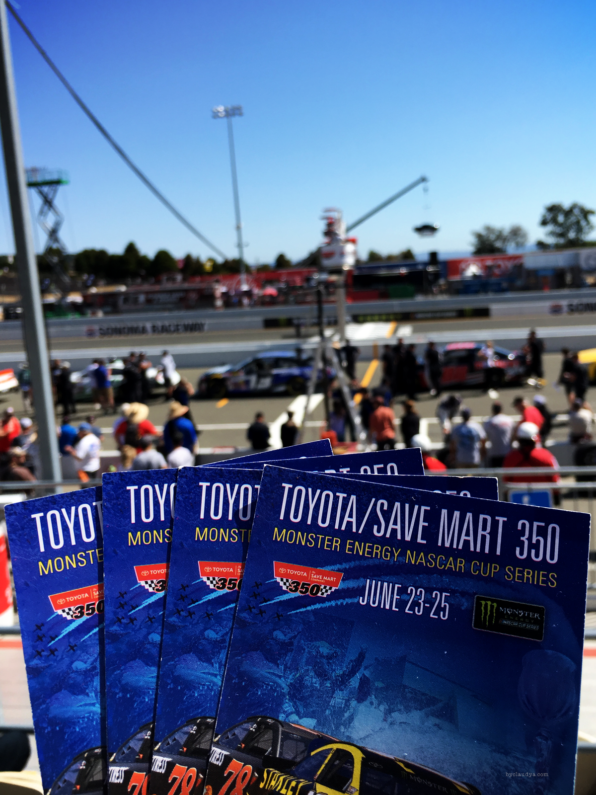 Tickets for Sonoma Raceway