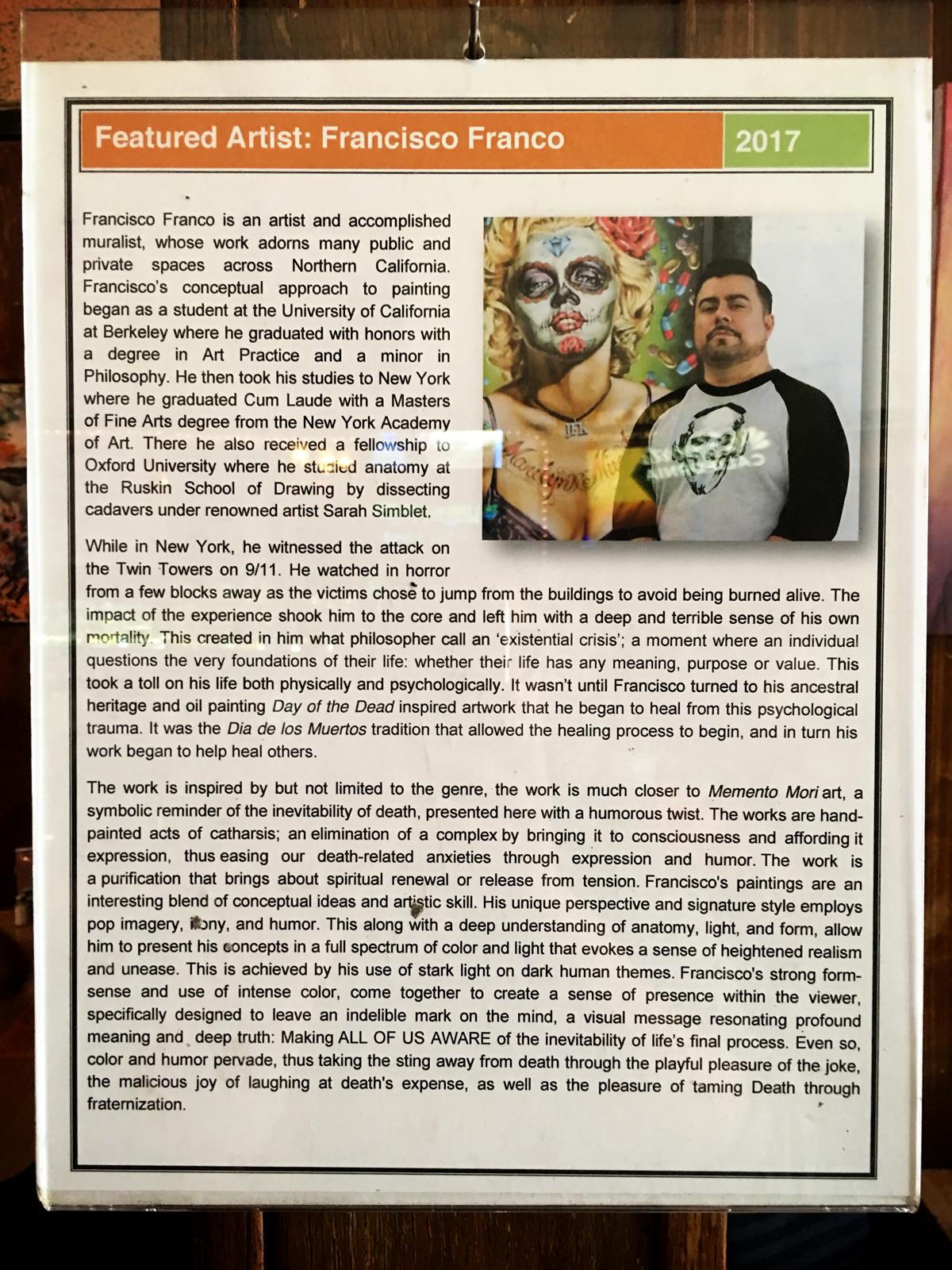 El Color y El Dolor: A Frida Inspired Art Show