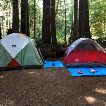 Camping at Little Basin