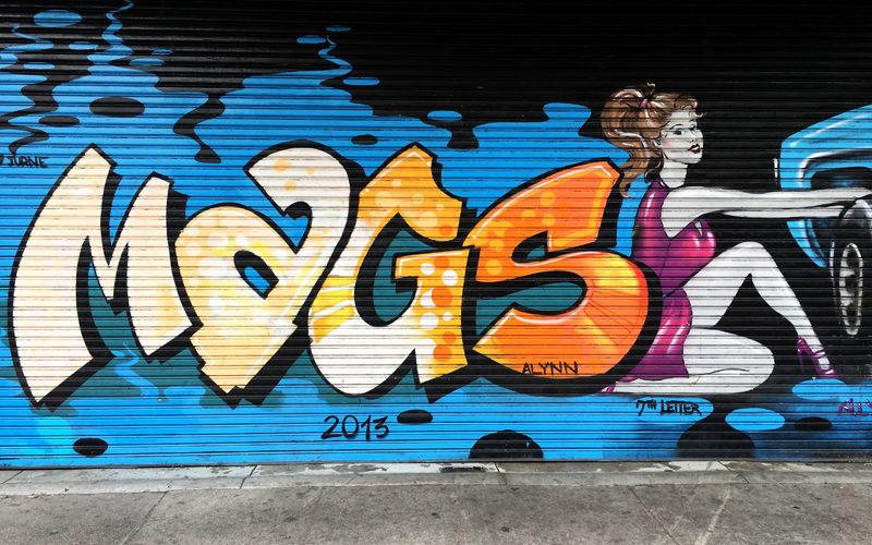 Amanda Lynn Street Art (Sundays In My City)
