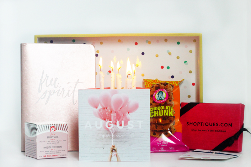August Anniversary Must Have Box