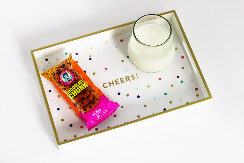 PASTEL Cheers Lacquered Tray