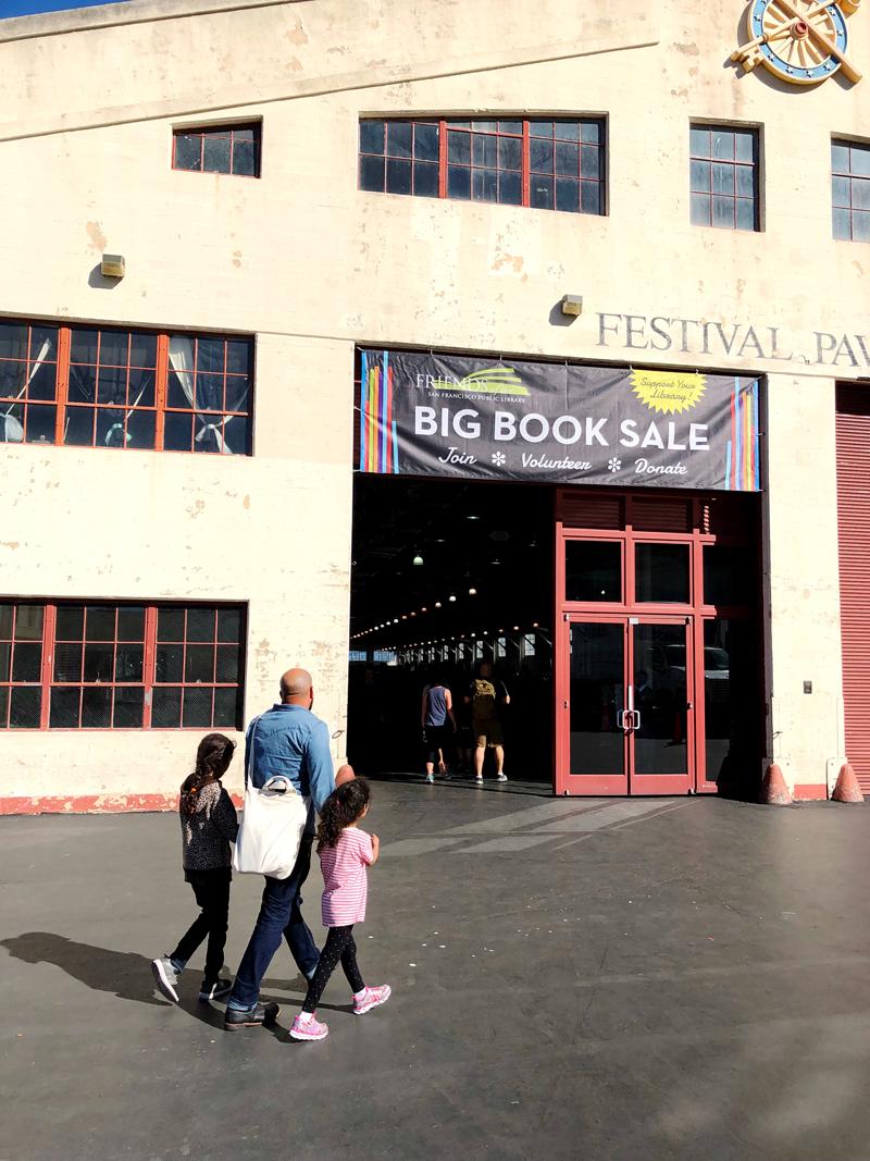 Big Book Sale at Fort Mason in San Francisco