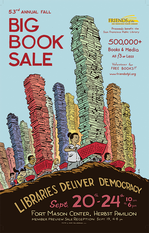 Big Book Sale Poster