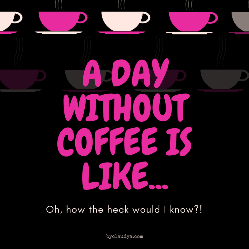 A life without coffee meme