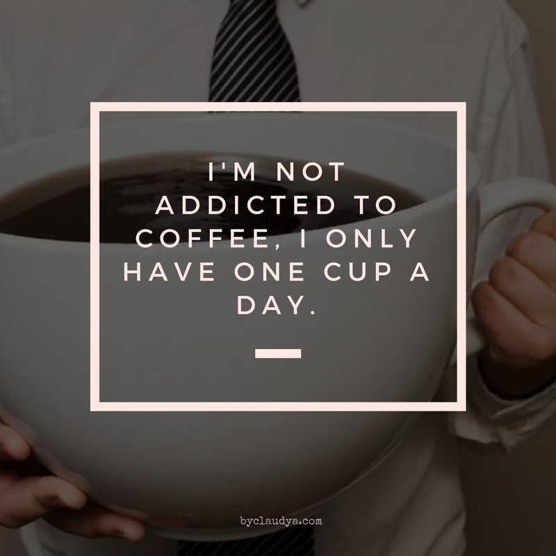 not addicted to coffee meme