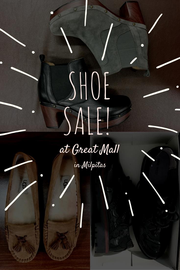 Shoe Sale Great Mall