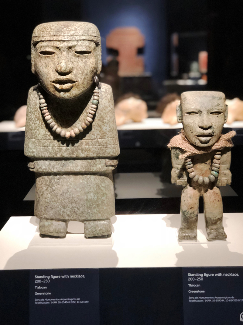 Standing Figures with Necklaces from Teotihuacan