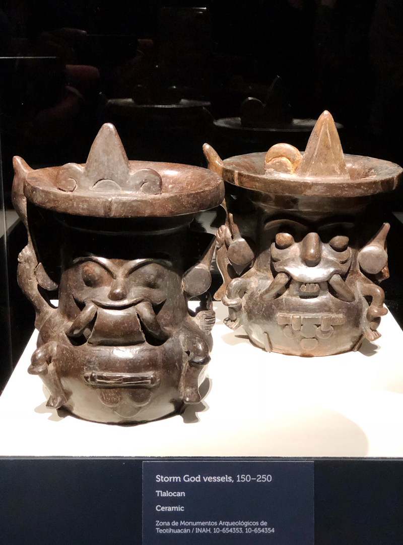 Strom God Vessels from Teotihuacan