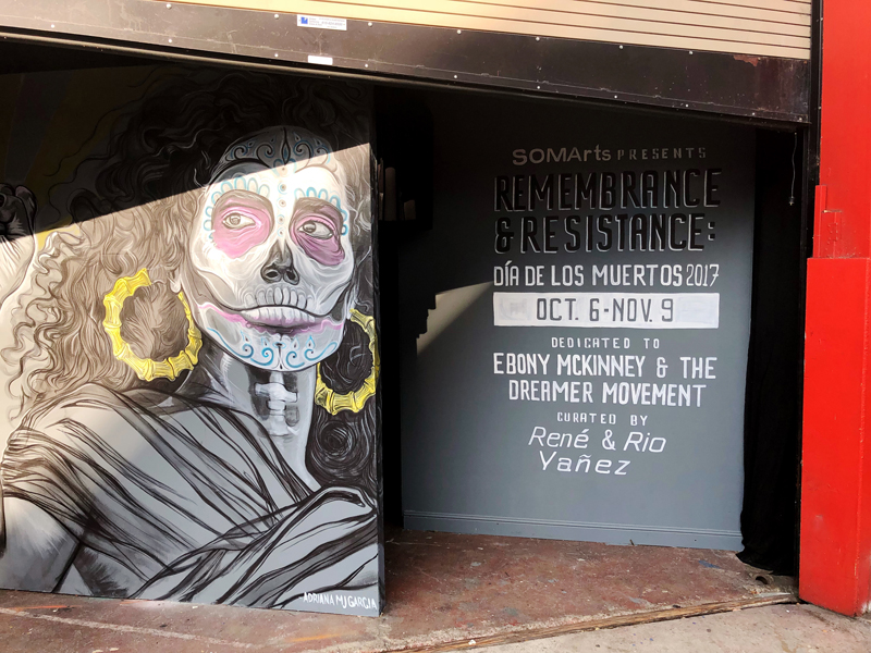 SOMArts Remembrance and Resistance Exhibit 2017