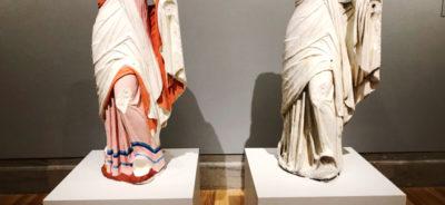 Gods in Color Thalia Reconstruction and Original