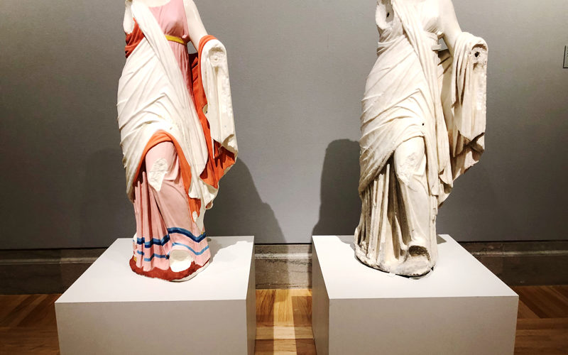 Gods in Color: Polychromy in the Ancient World at the Legion of Honor