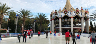 Ice Skating Winterfest Great America