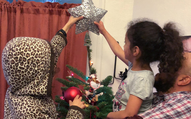 They Still Need Help Putting the Star on the Tree