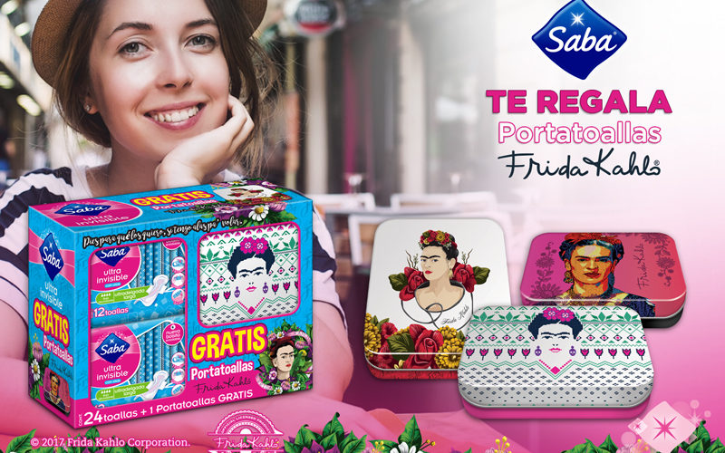 Frida Kahlo Has Wings, but They're on Maxi Pads