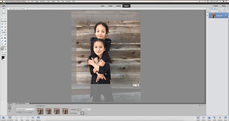 Photoshop Elements project