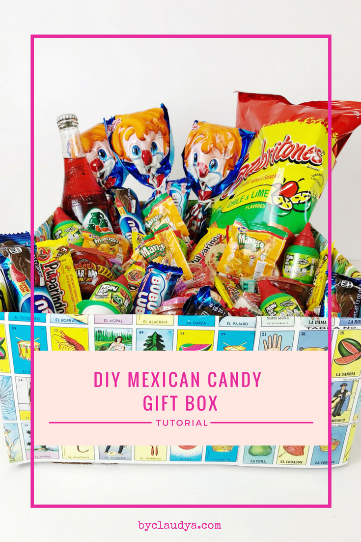 DIY Mexican Candy Gift Box Tutorial