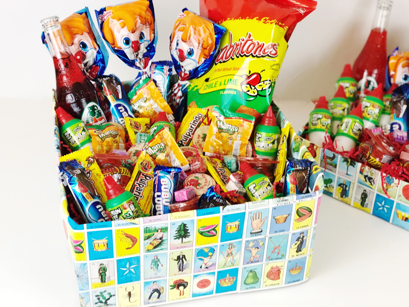 DIY Mexican Candy Gift Box